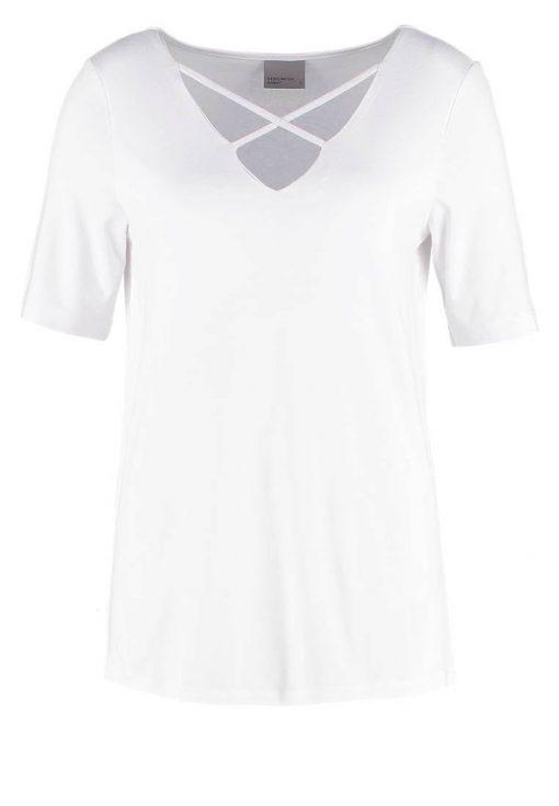 Vero Moda VMTILDE Camiseta básica bright white