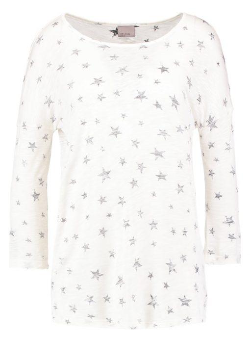 Vero Moda VMBIRDS Camiseta manga larga snow white/black