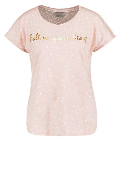 Vero Moda VMVALENTINE Camiseta print peach whip