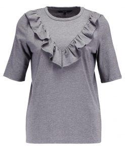 Vero Moda VMJEMIA FRILL Camiseta print medium grey melange