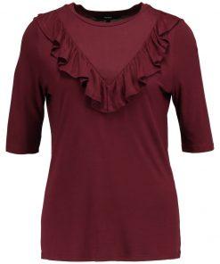 Vero Moda VMJEMIA FRILL Camiseta print zinfandel