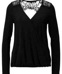 Vero Moda VMHOLLY  Camiseta manga larga black