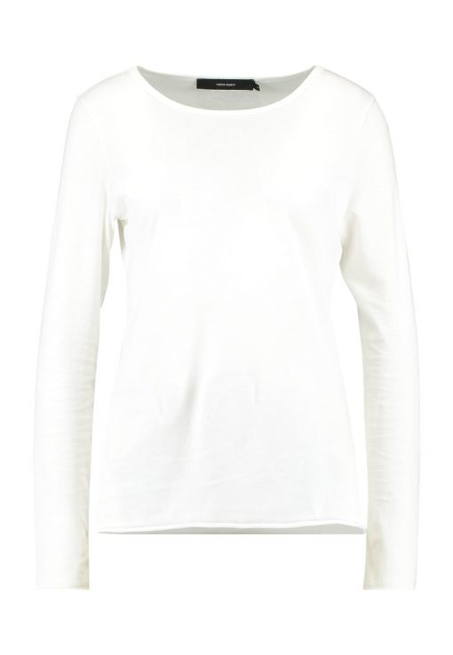 Vero Moda VMPERFECT Camiseta manga larga snow white