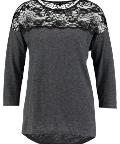 Vero Moda VMMALKA  Camiseta manga larga dark grey