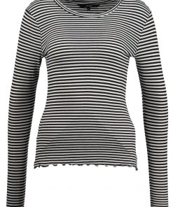Vero Moda VMBECCA STRIPED Camiseta manga larga night sky/with pristine
