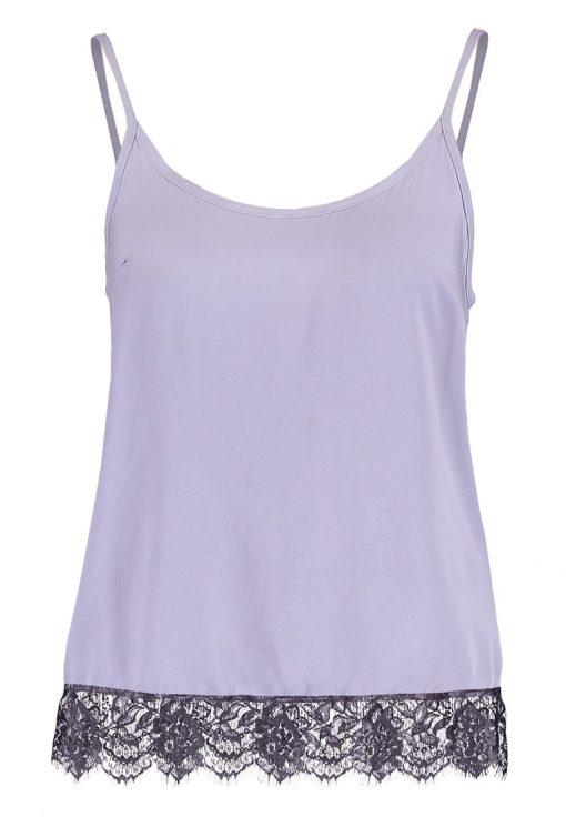 Vero Moda VMNEWMAKER Top lilac grey/asphalt