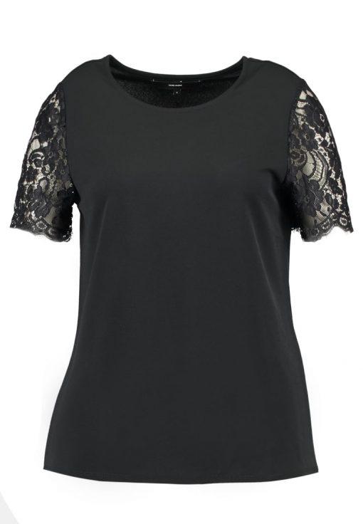 Vero Moda VMMILLA  Camiseta print black