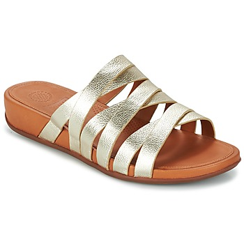 Slide Mujer Lumy Sandalias Fitflop Leather Para FTl1KJc