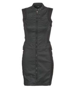 G-Star Raw Vestido LYNN SLIM DRESS S/LESS para mujer