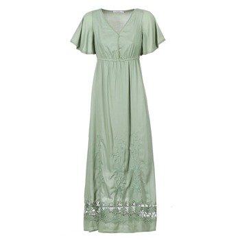 Cream Vestido largo POTINO para mujer