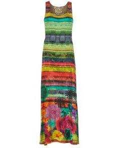 Desigual Vestido largo UTILA para mujer