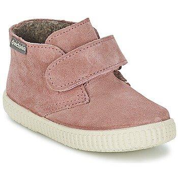 Victoria Zapatillas altas SAFARI SERRAJE VELCRO para niña