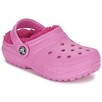 Crocs Zuecos CLASSIC LINED CLOG K para niña