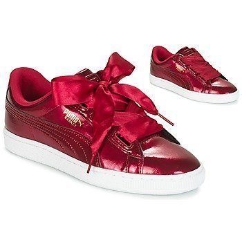 Puma Zapatillas Basket Heart Glam Jr para niña