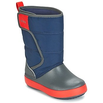 Crocs Descansos LODGEPOINT SNOW BOOT K para niño