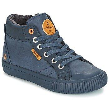 Victoria Zapatillas altas BOTA PIEL PU PARCHES para niño