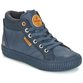 Victoria Zapatillas altas BOTA PIEL PU PARCHES para niña