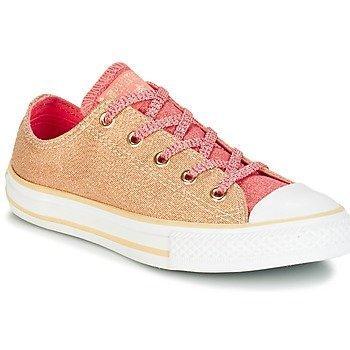 Converse Zapatillas CHUCK TAYLOR ALL STAR SHINE + SHIMMER OX PALE GOLD/SUNBLUSH/WHIT para niña