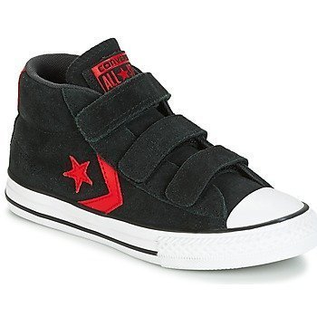 Converse Zapatillas altas STAR PLAYER EV V STAR PLAYER SUEDE MID BLACK/STORM WIND/CASINO para niño