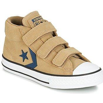 Converse Zapatillas altas STAR PLAYER EV V STAR PLAYER SUEDE MID SANDY/KHAKI/NAVY para niña