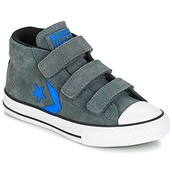 Converse Zapatillas altas STAR PLAYER EV V STAR PLAYER SUEDE MID THUNDER/BLACK/ITALY BLUE para niño