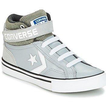Converse Zapatillas altas PRO BLAZE STRAP STRETCH PRO BLAZE LEATHER SUEDE HI WOLF GREY/S para niña