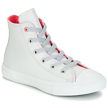 Converse Zapatillas altas CHUCK TAYLOR ALL STAR FASHION LEATHER HI PURE PLATNUM/WOLF GREY/ para niña