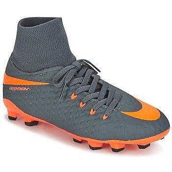 Nike Zapatillas de fútbol HYPERVENOM PHANTOM 3 ACADEMY DYNAMIC FIT (FG) JUNIOR para niño