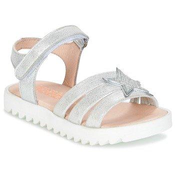 Acebo's Sandalias PLATA para niña