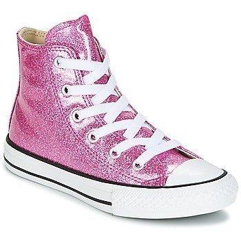 Converse Zapatillas altas Chuck Taylor All Star Hi Seasonal Glitter para niña
