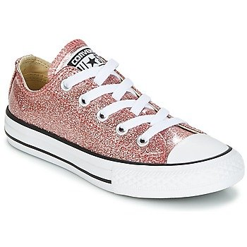 converse niña rosa all star