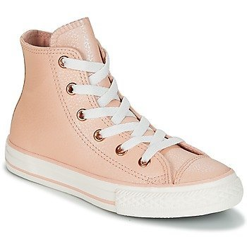 Converse Zapatillas altas Chuck Taylor All Star Hi Fashion Leather para niña