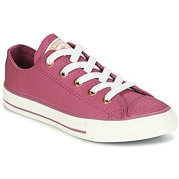 Converse Zapatillas Chuck Taylor All Star Ox Fashion Leather para niña