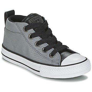 Converse Zapatillas altas Chuck Taylor All Star Street Mid Back Pack Textile para niña