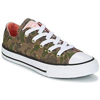 Converse Zapatillas Chuck Taylor All Star Ox Camo Gold Star para niña