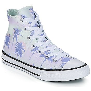 Converse Zapatillas altas Chuck Taylor All Star Hi Palm Trees para niña