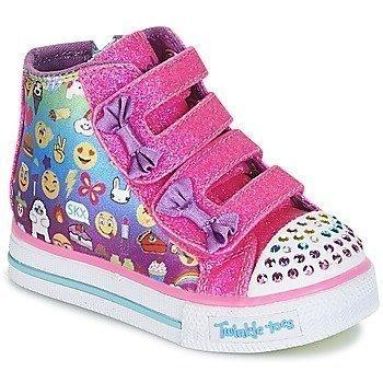 Skechers Zapatillas altas SHUFFLES/BABY TALK para niña