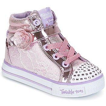 Skechers Zapatillas altas SHUFFLES para niña